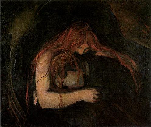 Edvard Munch, Amour et douleur