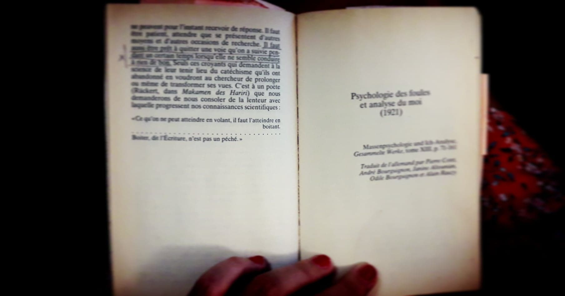 Psychologie des foules et analyse du moi (1921)