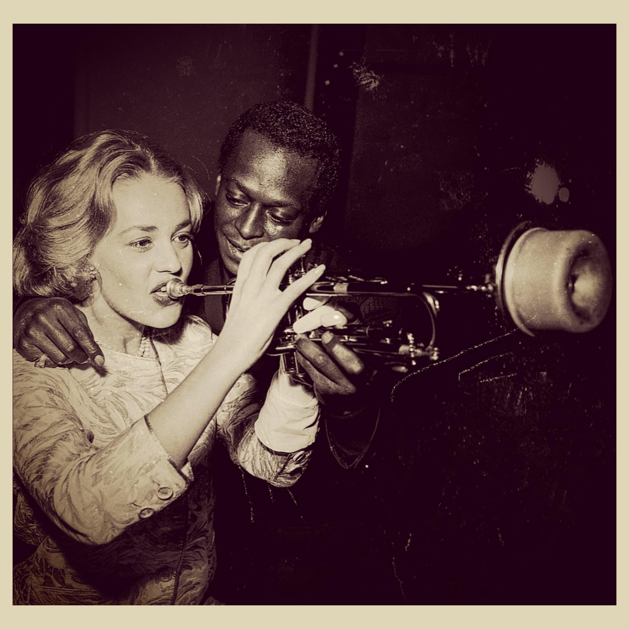 Jeanne Moreau & Miles Davis, 1958